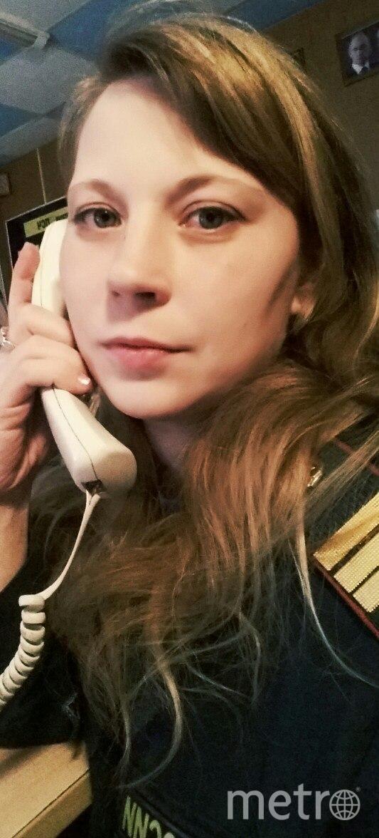 Девушка-диспетчер пожарной части Надежда Смирнова. Фото предоставлено Надеждой Смирновой