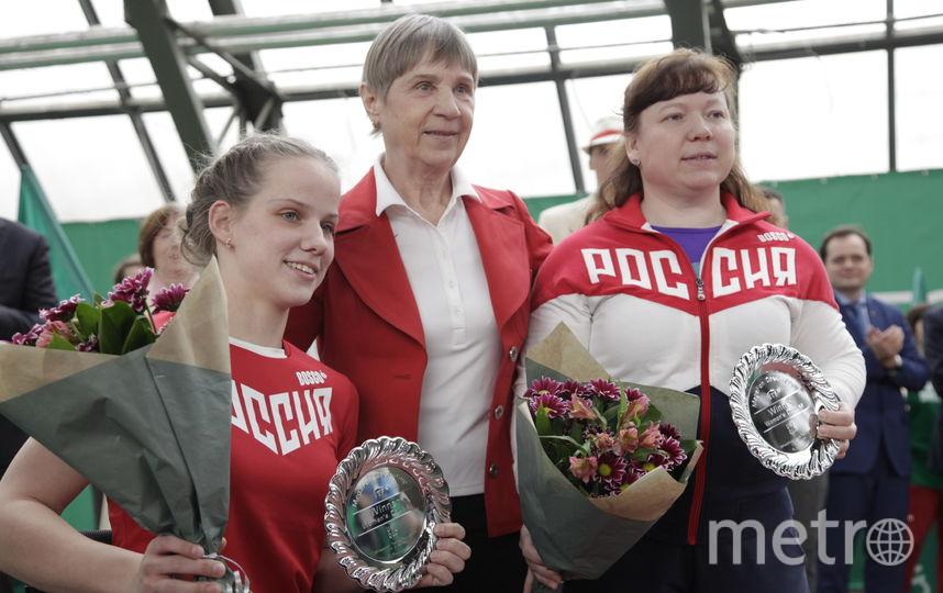 В Петербурге прошел импровизированный показ олимпийской моды. Фото Оргкомитет MegaFon DreamCup