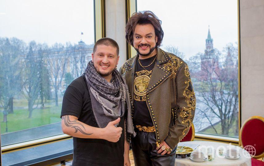 """Ренат Агзамов и Филипп Киркоров. Фото предоставлено телеканалом """"Пятница!"""""""