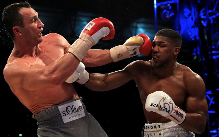 Джошуа уверенно победил Кличко. Фото Getty
