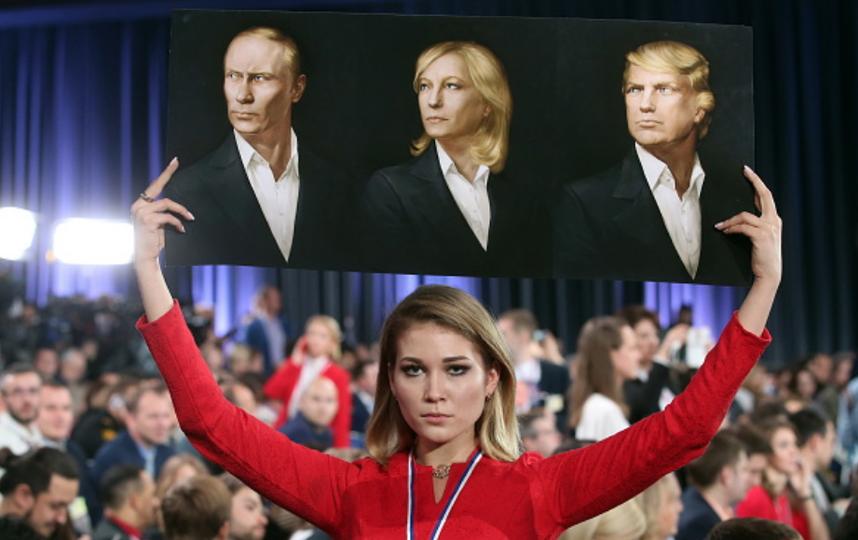 Ле Пен открыто симпатизирует Путину. Фото Getty