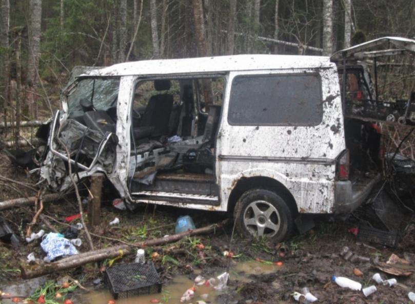 ВЛенинградской области вДТП умер восьмилетний парень