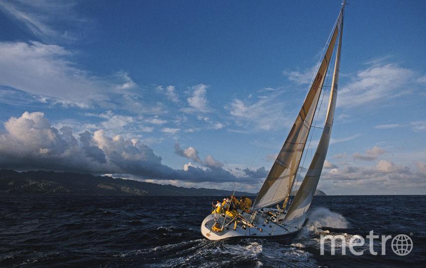 Парусная яхта. Фото Getty