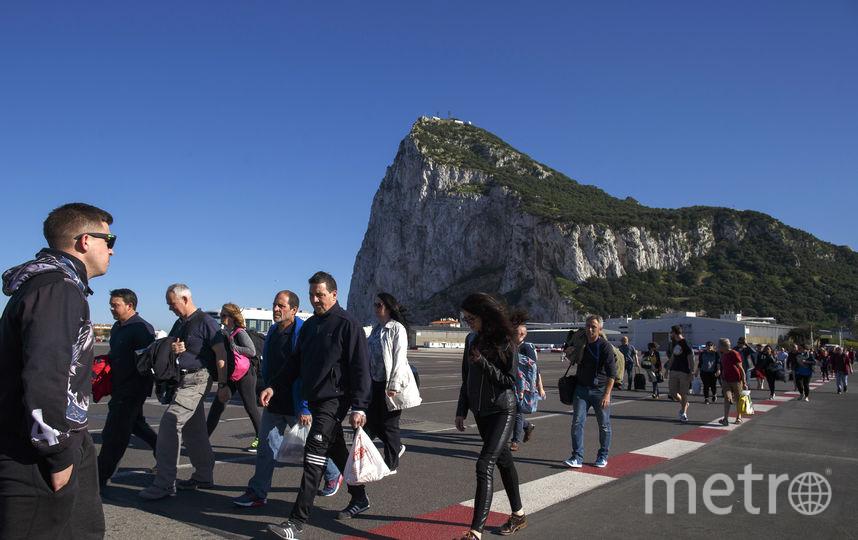 Спорная территория Гибралтара привлекает туристов. Фото Getty