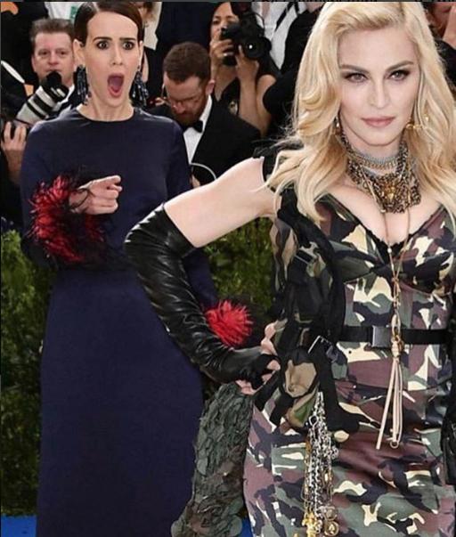 Мадонна и Сара Полсон. Фото Instagram