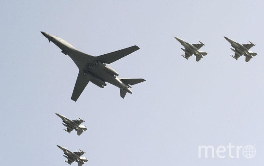 Бомбардировщики США, взволновавшие Северную Корею. Фото Getty