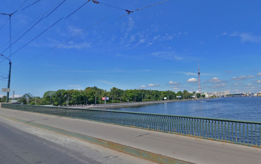 Гренадерский мост. Фото Яндекс.Панорамы.