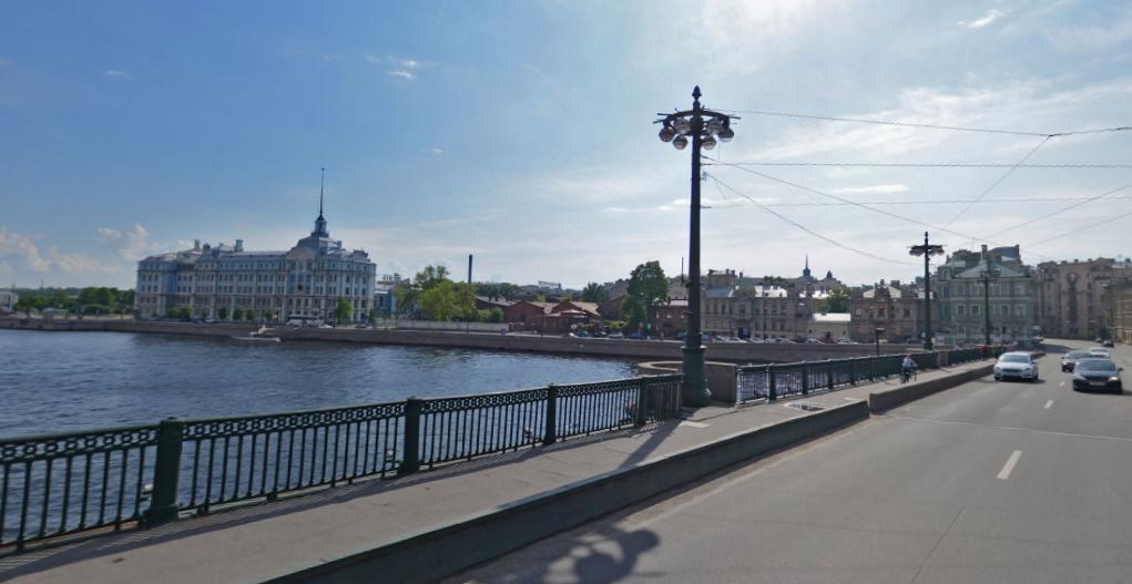 Сампсониевский мост. Фото Яндекс.Панорамы.