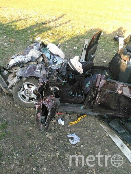Фото с места аварии в Татарстане. Фото https://vk.com