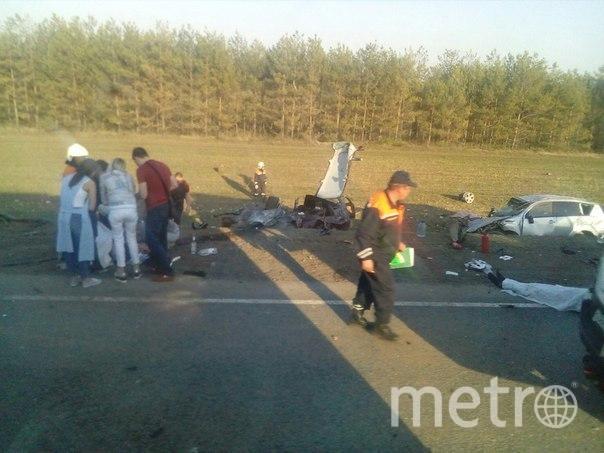 Фото с места аварии в Татарстане. Фото https://vk.com/