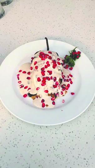 """Мексиканский фаршированный перец в ореховом соусе. Фото """"Metro"""""""