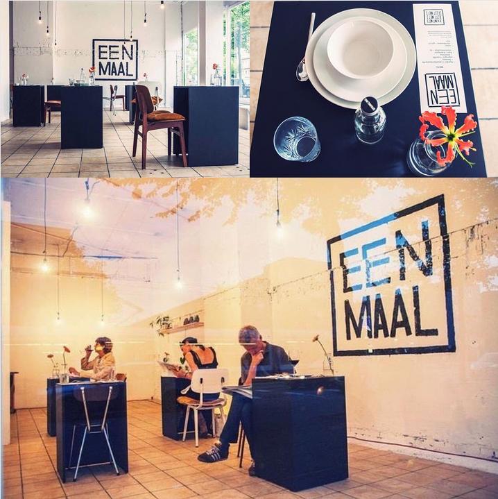 В Амстердаме открыли ресторан для одиночек. Фото Скриншот Instagram/namba_food