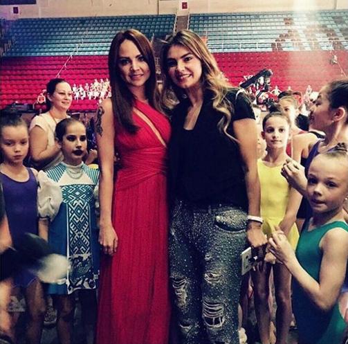 Алина Кабаева и певица Максим. Фото Instagram