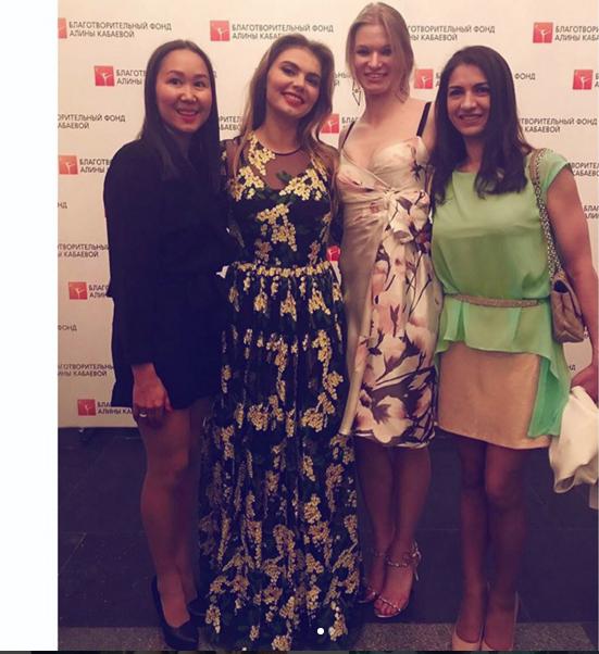 Алина Кабаева открыла фестиваль художественной гимнастики. Фото Instagram
