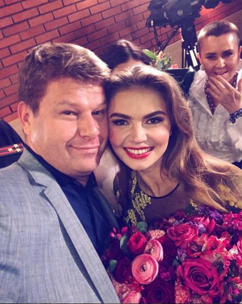 Алина Кабаева и Дмитрий Губерниев. Фото Instagram