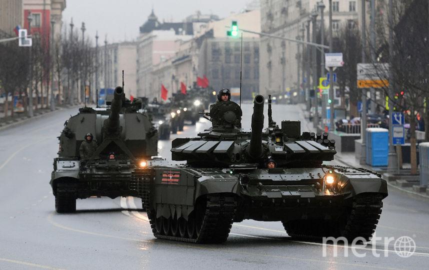 В Москве 3 мая для прохода военной техники ограничат движение. Фото AFP