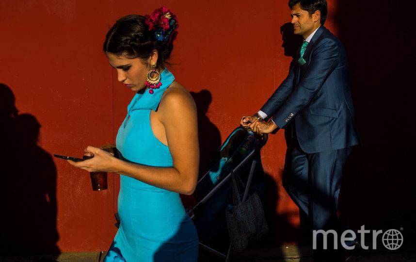 Ярмарка Feria de Abril в Севилье проводится уже много лет подряд. Фото Getty