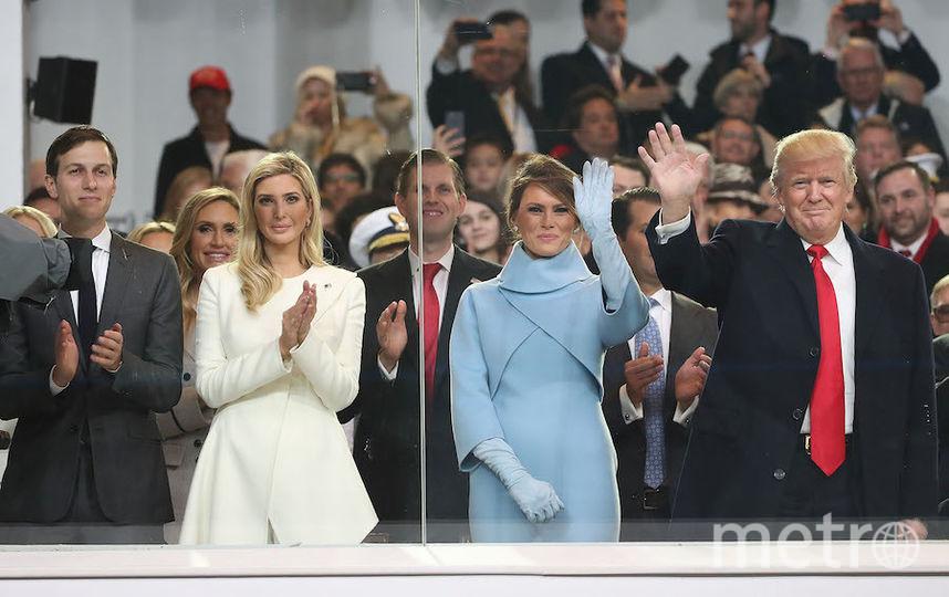 Семья Трамп. Фото Getty