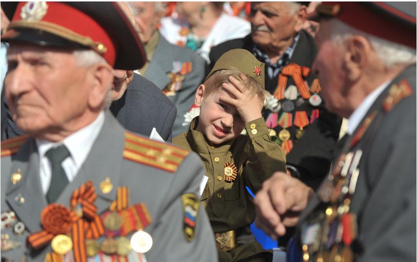"Парад 9 мая 2016 года. АРХИВ. Фото Святослав Акимов, ""Metro"""