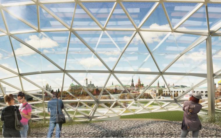 """Проект парка """"Зарядье"""". Фото mos.ru"""