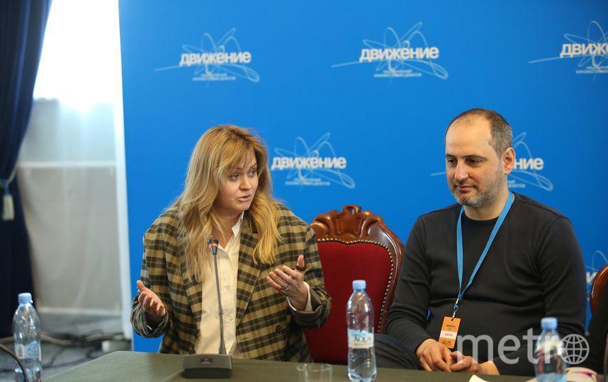 Анна Михалкова и Алексей попогребский. Фото Геннадий Авраменко.