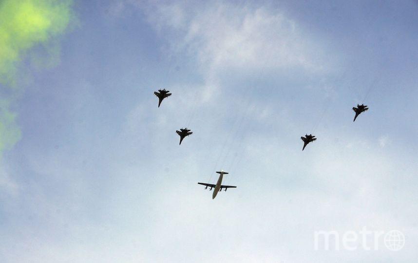Сегодня в Москве пройдёт тренировка воздушной части парада. Фото Getty