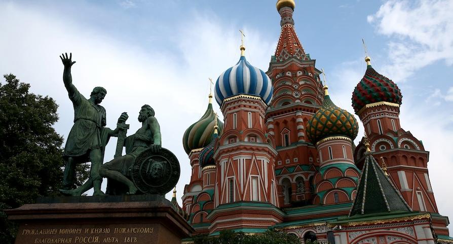 До 9 мая Красную площадь закрыли для посещения. Фото Getty