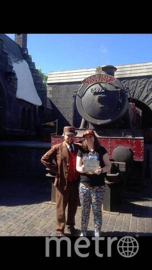 Ребекка в мире Гарри Поттера. Фото предоставил Brent Barnes