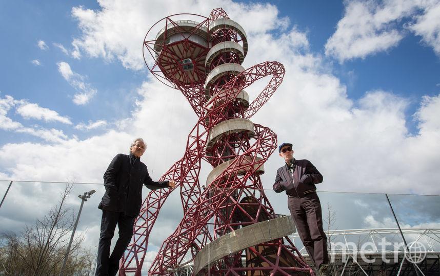 """В Лондоне скульптор соорудил смотровую башню """"Орбита"""". Фото Getty"""