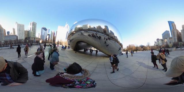 Боб в Чикаго.