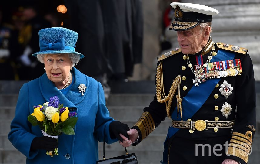 Принц Филипп и Елизавета II. Фото AFP