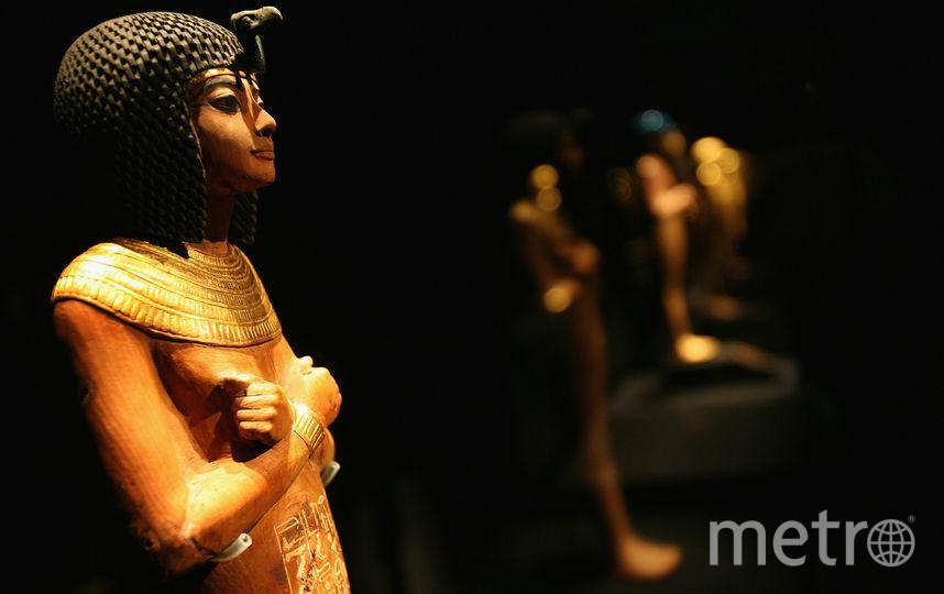 "Выставка ""Тутанхамон"" в Лондоне. Фото Getty"