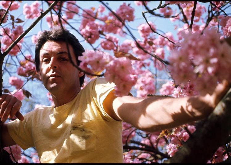 Пол Маккартнри- фотоархив.