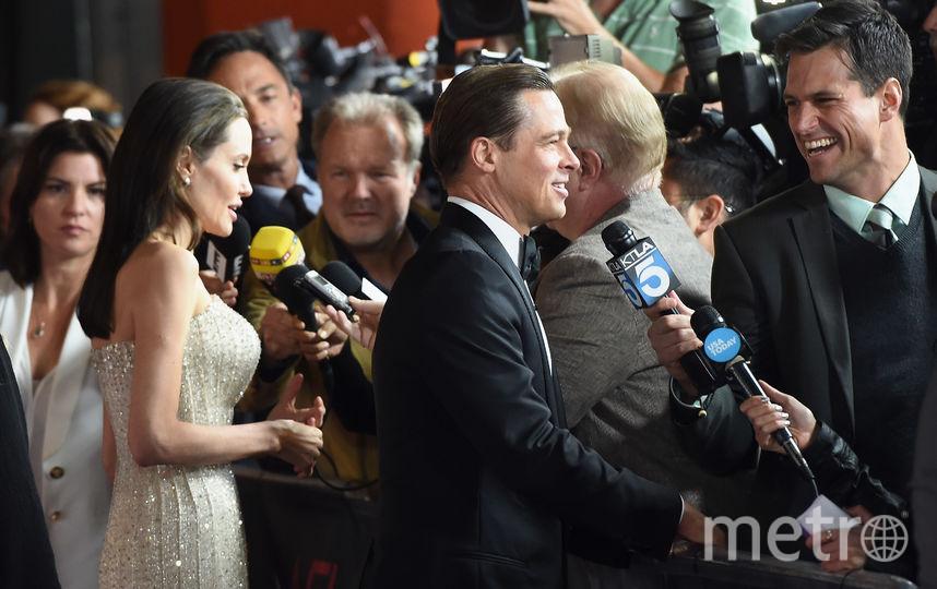 Раскрылась причина развода Джоли и Питта. Фото Getty
