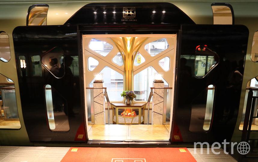 В Японии появился поезд-люкс с двухэтажными купе. Фото AFP