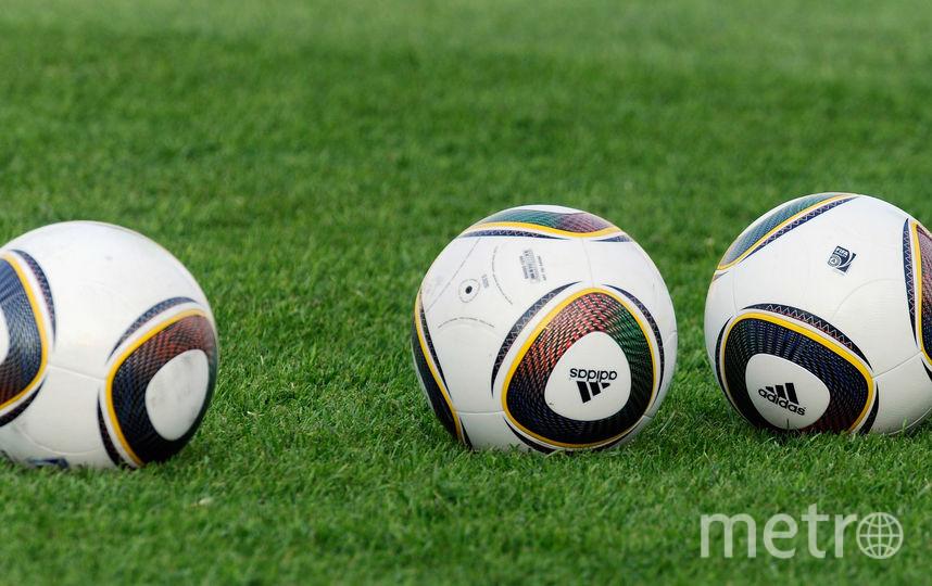 Футбольные мячи. Фото Getty