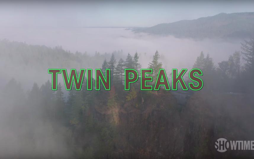 Официальный тизер. Фото Twin Peaks, Скриншот Youtube