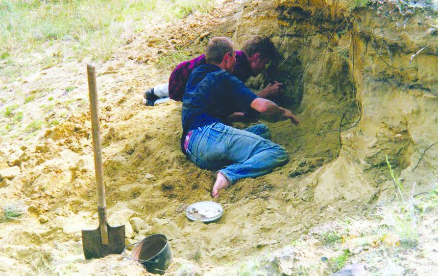 Экспедиция в 1998-м | фото предоставлено журналом Biological Communications.