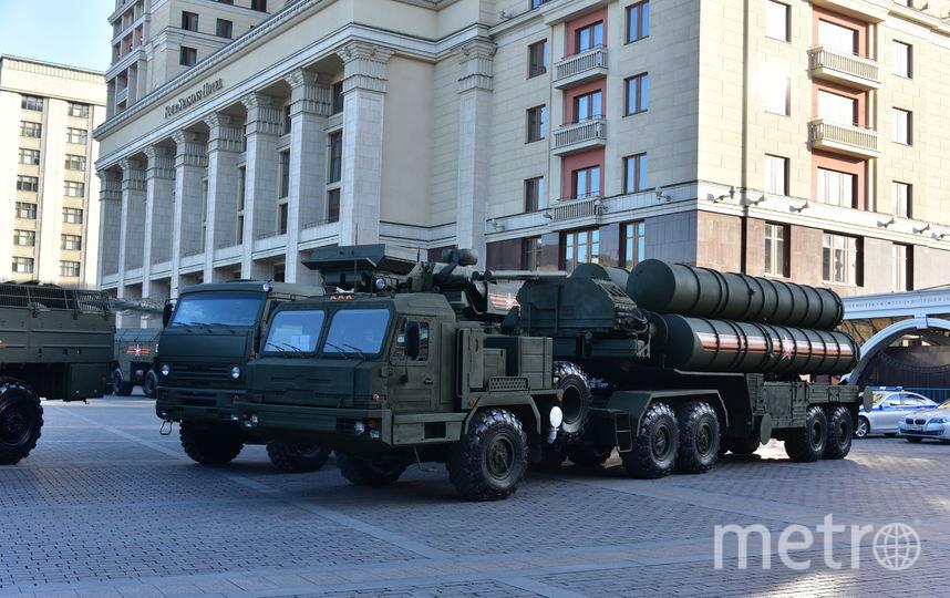 Военная техника перед парадом 9 мая в Москве (архивное фото). Фото Василий Кузьмичёнок