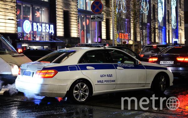 Полицейский автомобиль. Фото Getty