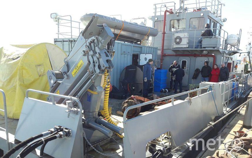 Содна Финского залива подняли пушку линкора «Портсмут»