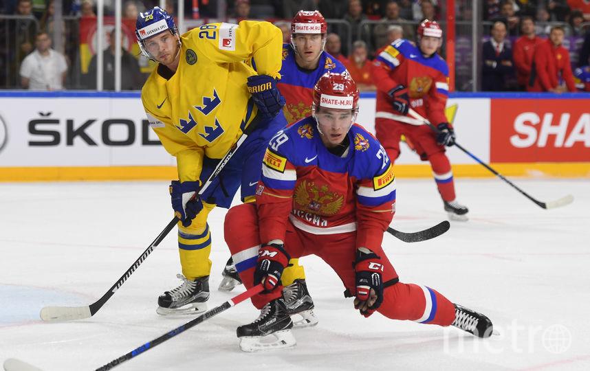 Швеция иБеларусь проиграли настарте ЧМ-2017 похоккею