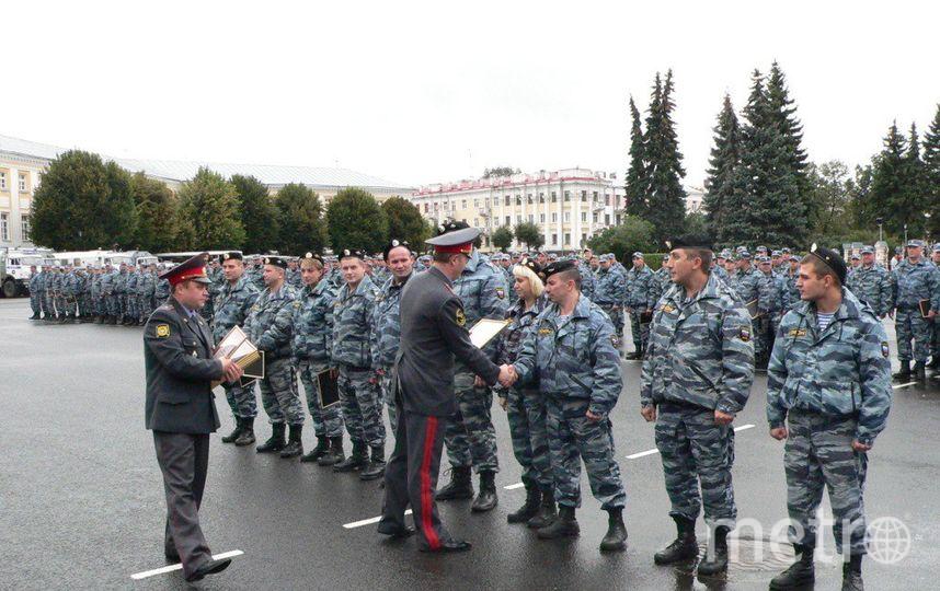 Свыше тысячи бойцов Росгвардии обеспечат порядок вДень Победы вПетербурге
