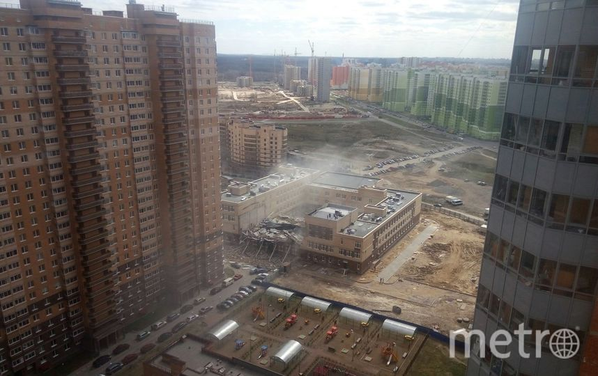 ДТП и ЧП | Санкт-Петербург | vk.com/spb_today. Фото Тимофей Новожилов, vk.com