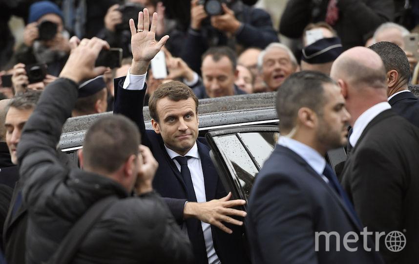 Макрон стал новым президентом Франции. Фото AFP