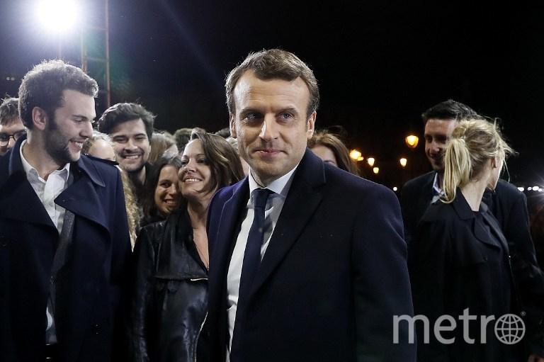 Избранный президент Франции Эммануэль Макрон. Фото AFP