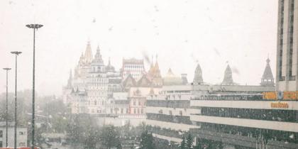 Погода в Москве. Фото Instagram/sokmail