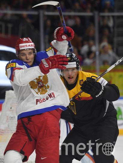 Фрагмент матча Германия - Россия. Фото AFP