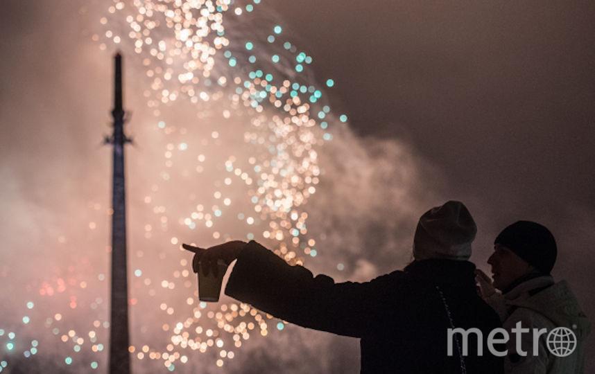 Салют в честь Дня победы в Москве (архивное фото). Фото РИА Новости