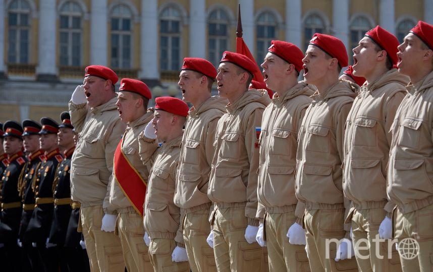 Парад Победы-2017 в Петеребурге.